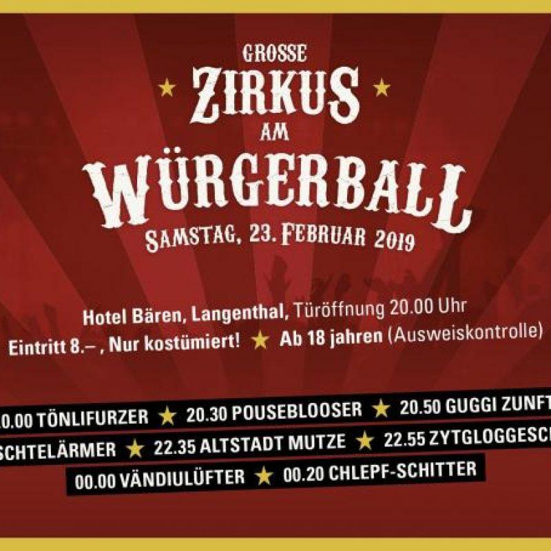 Würgerball Flyer 2019